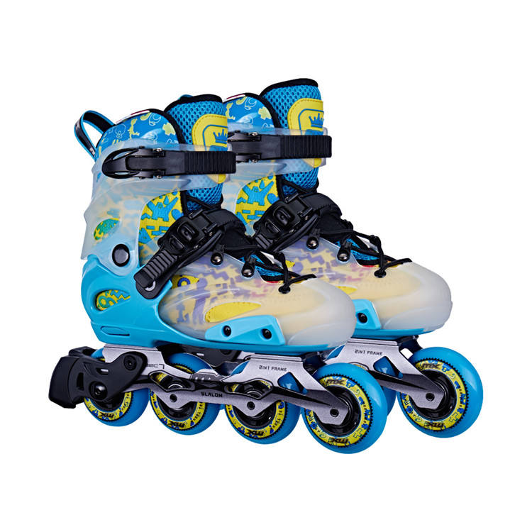 Cheap Price Wholesale Professional Kids Adjustable 4 Pu Wheel Roller Skating Shoes High Quality Hot Quad Inline Skate For Sale