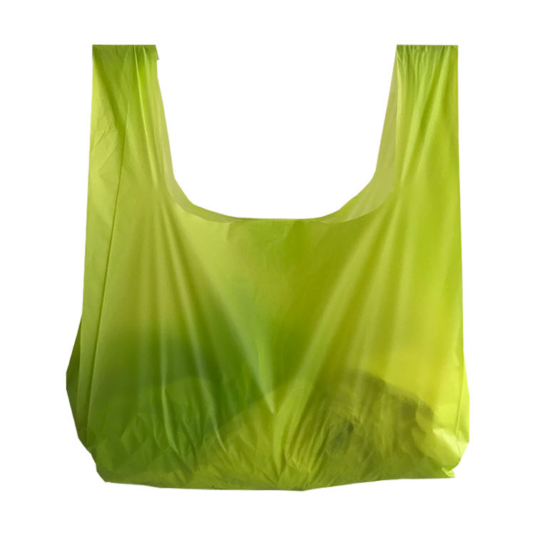 EGP Pla new material 100% biodegradable bag corn starch shopping bags