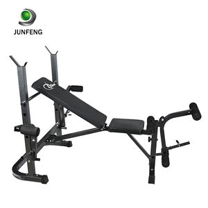 Commercial gym bench adjustable home gym equipment