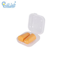 High Fidelity Custom Logo Bottle Soundproof Sleeping Musician Earplugs Concert Safety Noise Cancelling Pu Foam Ear Plug