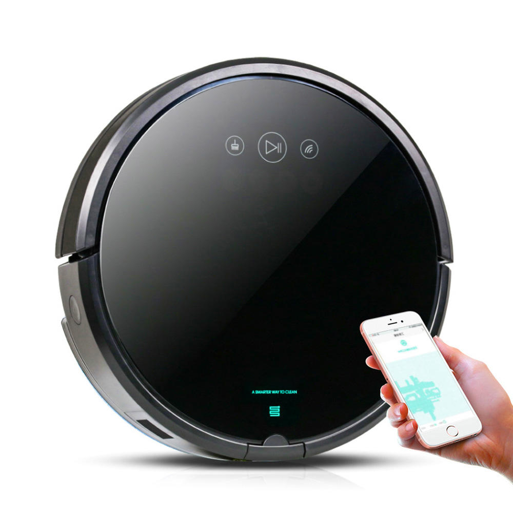 2020 Newest Smart WiFi APP Control Wet Dry Auto Recharge MultiFunction Sweeping Robot Vacuum Cleaner for Floor with Water Tank