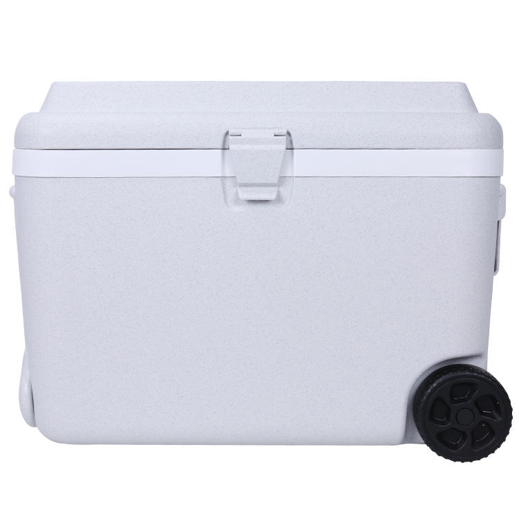 New Color Ice Chest Cooler BPA Free Waterproof Picnic Cooler with Wheels Plastic Insulated Cooler