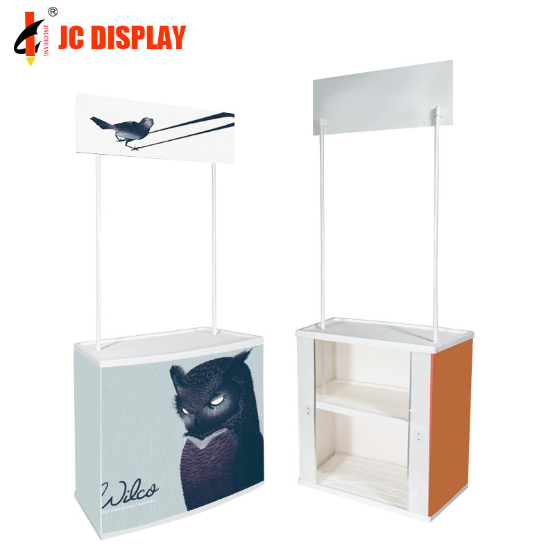 Exhibition Table High Quality Display Promotion Counter Table