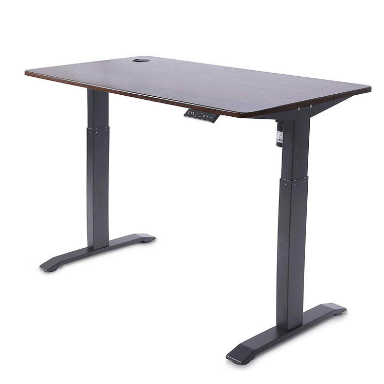 Healthy Office Working Single Motor Adjustable Height Desk Frame Electric Lifting Office Tables Stand Up Desk Canada