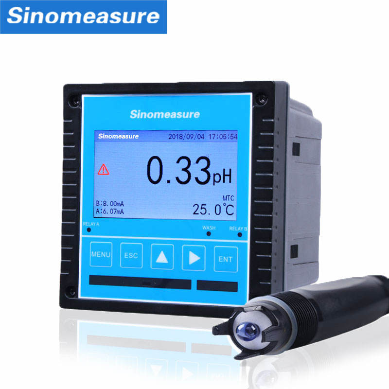 online ph controller hydroponics 4-20ma digital price industrial hydroponic liquid orp ph meter price 20ma supplier ph tester