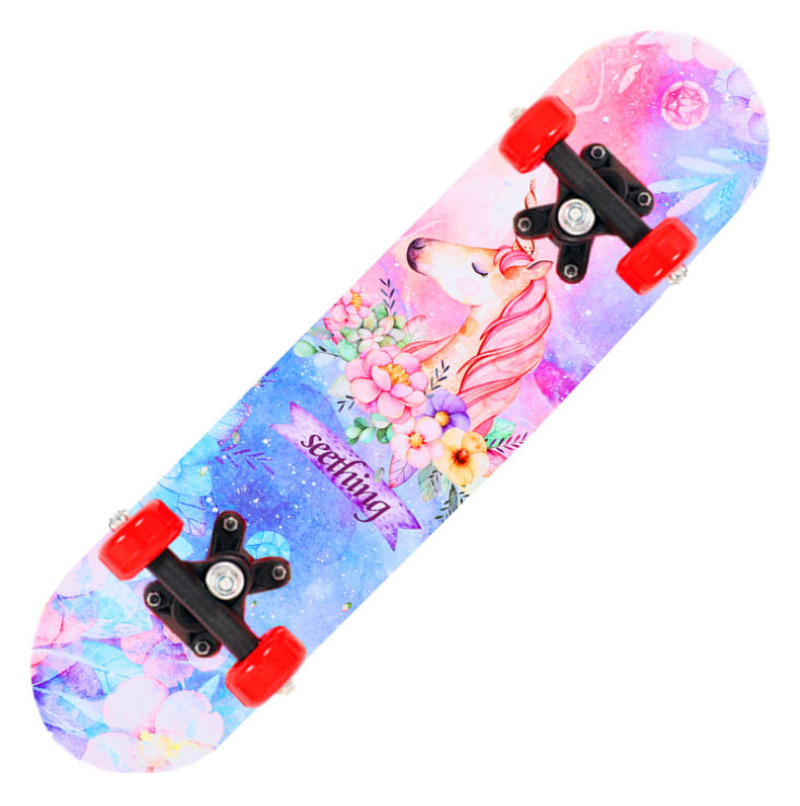 LY3517 Cheap 7 Layers Maple Geele Profesional Skateboard Decks