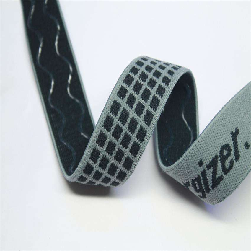 Factory specialized in New Design glow in the dark jacquard webbing used for bags/belt/coated/handbags/shoes webbing