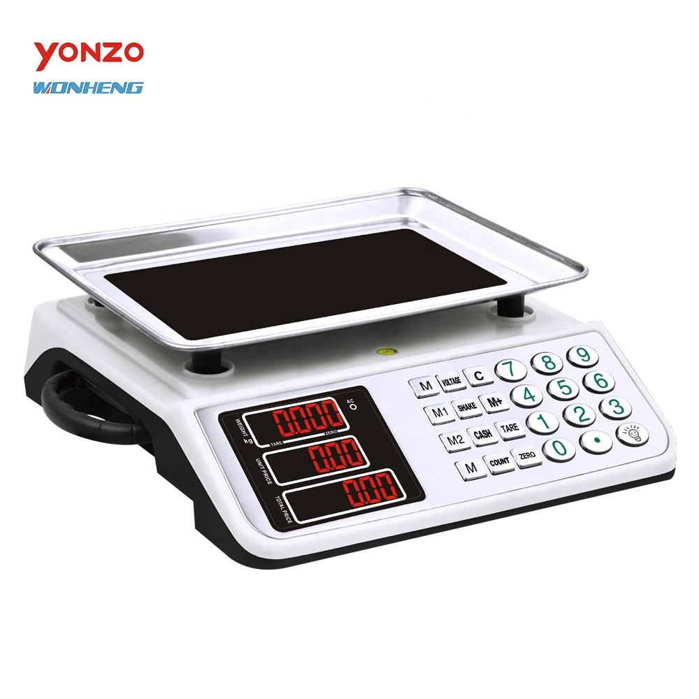 Factory Sale Proper Price YZ-768 New Trending Acs 40kg Digital Weighing Scales