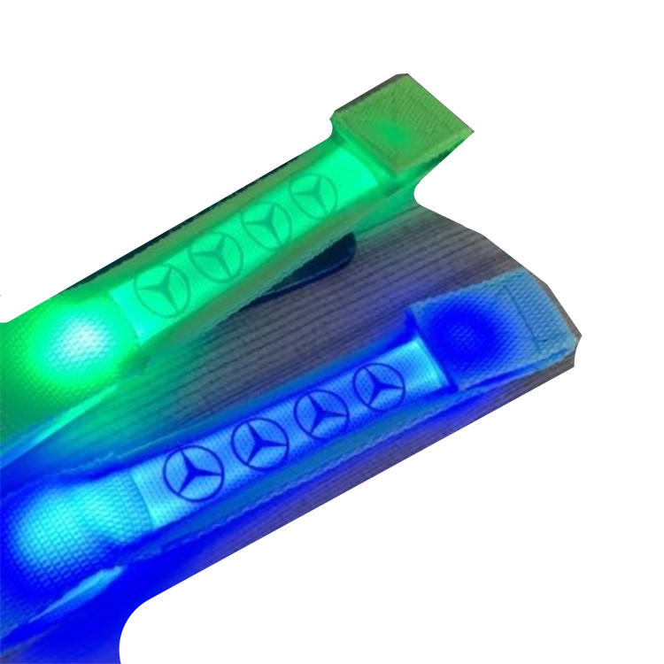 Coldplay wristband led lampeggiante wristband wristband del braccialetto led