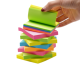 Memo Pads Sticky Note Pads Bright Colorful Recycled Mini Sticky Note Pads With 3*3 Inch
