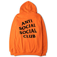 Anti social club Kanye's men's and women's fashionable hooded sweater with velvet jacket