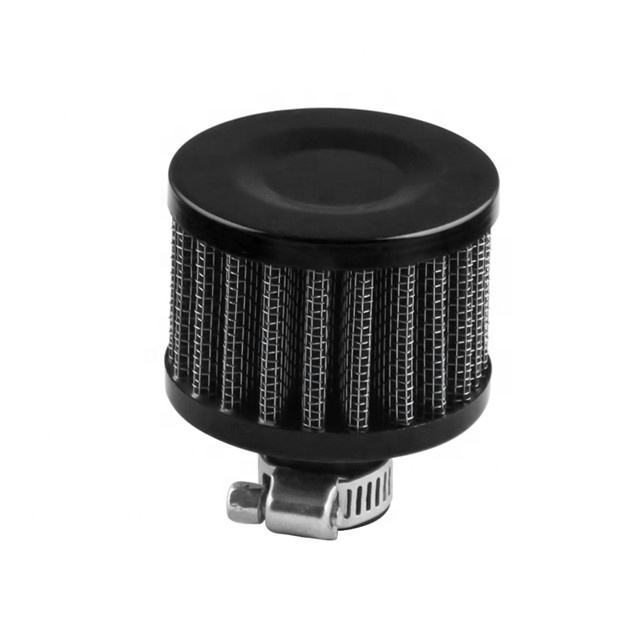 Universele 12 Mm Auto <span class=keywords><strong>Luchtfilter</strong></span> Vent Carterontluchting High Flow Kegel Cold Air Intake Filter