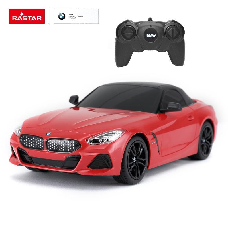 RASTAR 1/24 plastic rc model BMW Z4 roadster small super toy car with remote control