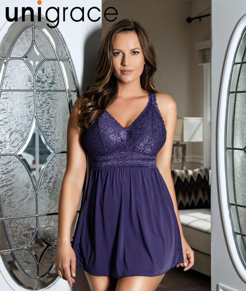 Plus size lingerie sexy hot transparent woman chemise wholesale push up underwear hot sale bady suit