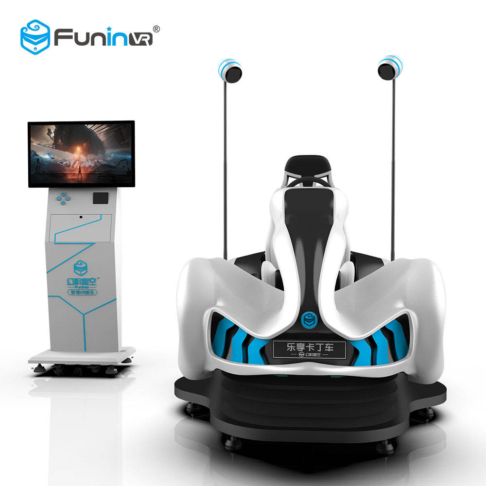 Funin VR Easy Earn Money Through Internet 9D VR Game Machine VR Car Racing Simulator