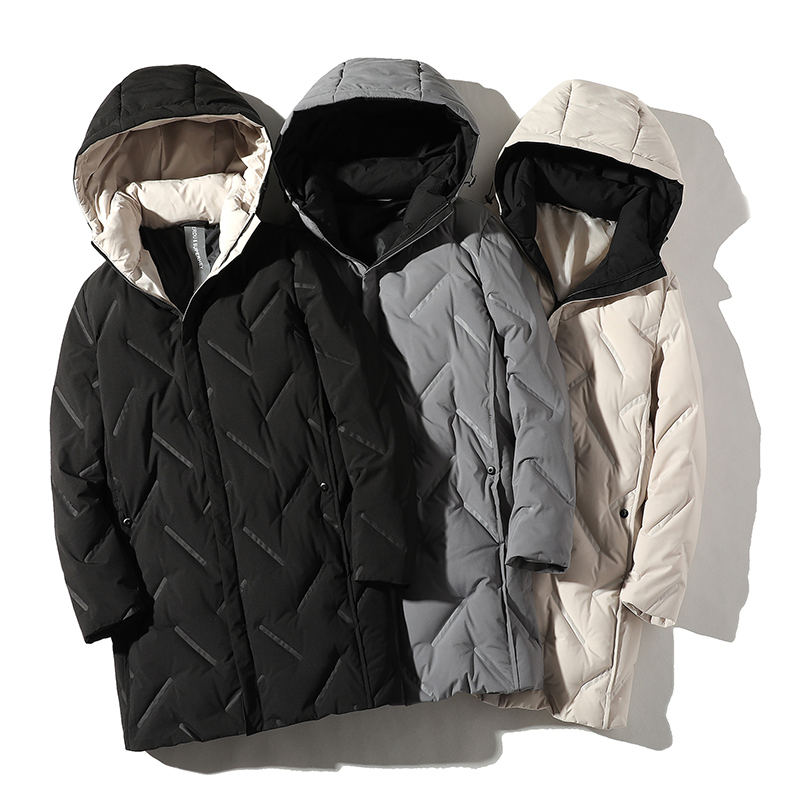 new model 2020 high quality down heated mens jackets men's jackets coats long winter jacket men