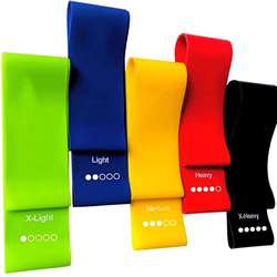 Yoga Resistance Rubber Bands Indoor Outdoor Fitness Equipmen