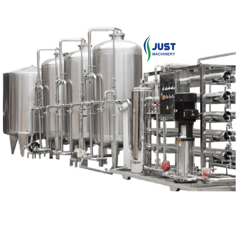 JUST Ro water treatment filters line