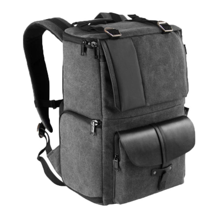 20SA-8668M Best Selling Outdoor Travel Professional Video Canvas Waterproof Dslr Digital Camera Backpack Bag
