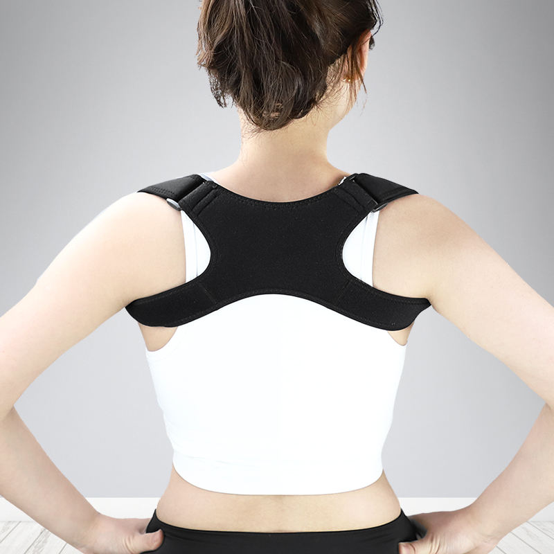 5505# Upper Back Brace Adjustable Posture Corrector Support Shoulder Brace