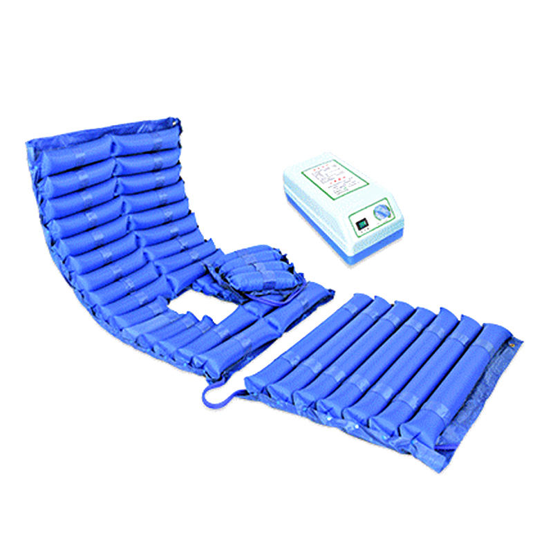 Wholesale Striped wave alternating inflatable cushion medical anti-decubitus air mattress for hospital bed