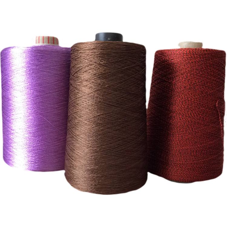 Dyed Bright 250D/3 Viscose Embroidery Rayon Thread