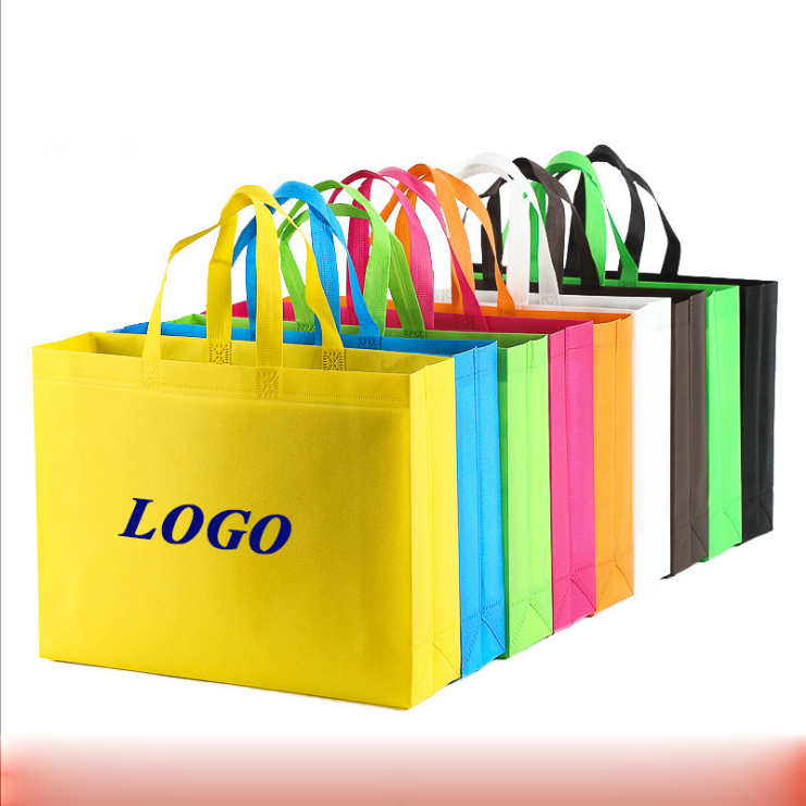 trading show non woven bag cheap and high quality reusable shopping bag non woven tote bag can be customized on your logo