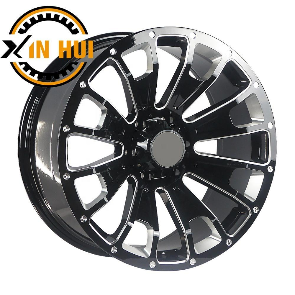 20x9.5 inch alloy wheel dubai truck wheel 6x139.7 4x4 suv car rims for sales offroad wheels design