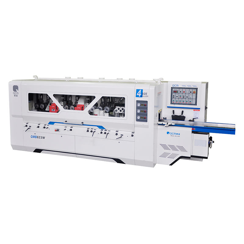 QCM QMB623W Universal Spindle Four Side Moulder 4 Side Wood Planer And Thicknesser Wood Four Side Moulder Woodworking Machine