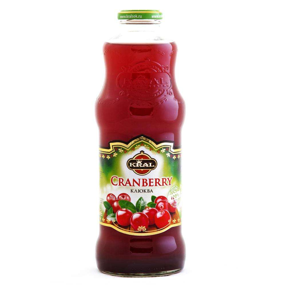 1000 ML Cranberry Nectar KRAL Drink Wholesale Cranberry Drink Healthy Juice Drink Production Line