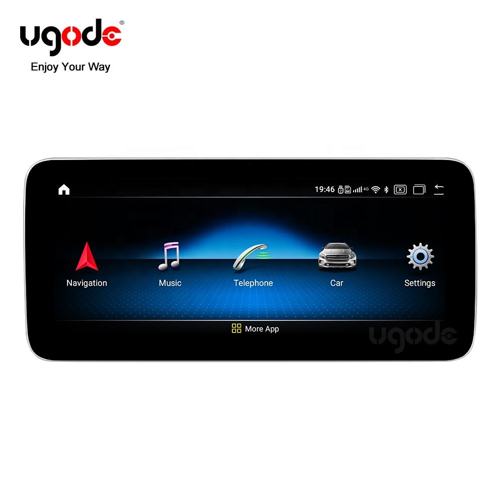 Ugode Android 10.0 Car upgrade screen GPS Navigation Multimedia fast system for Mercedes Benz Android W205 C class
