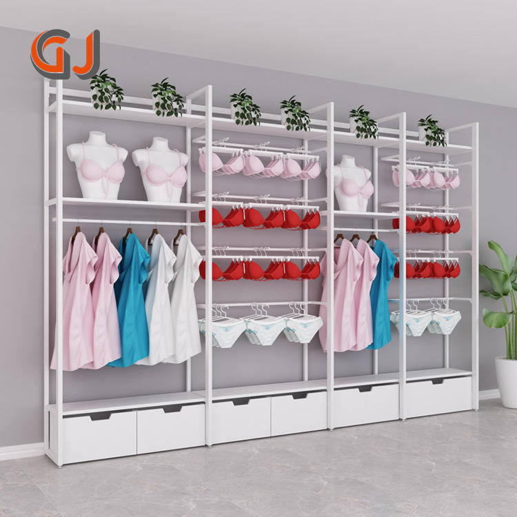 Factory Direct Hanging Retail Store Display Rack Clothing For Sale