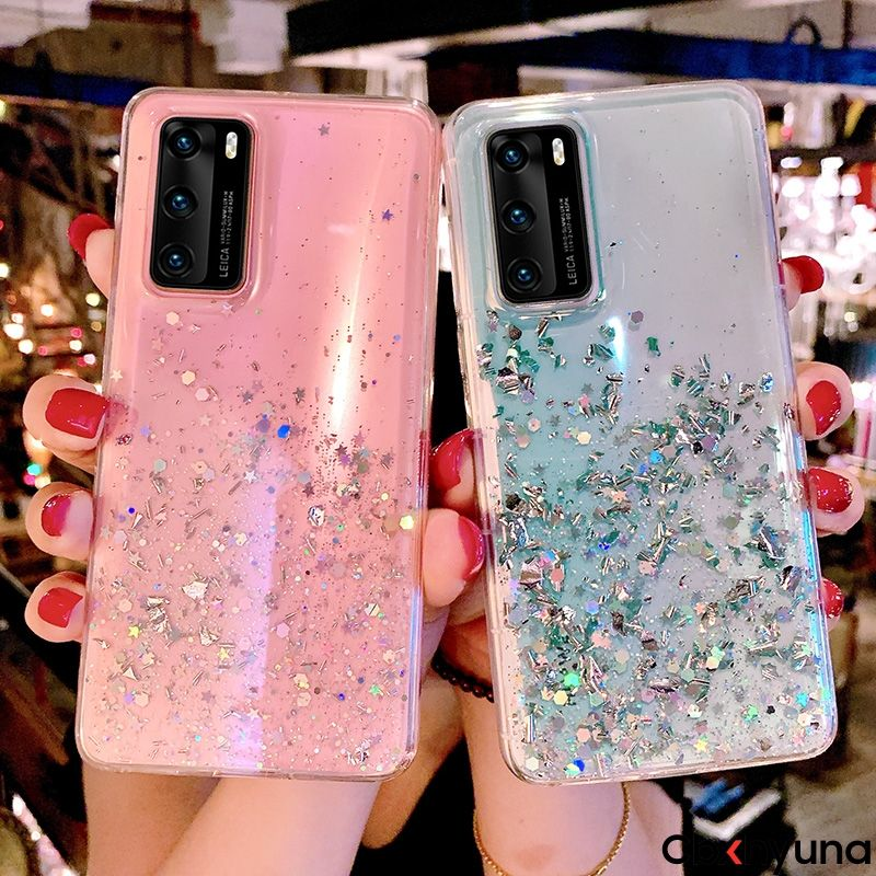 Voor Oppo A5 A9 A31 F9 <span class=keywords><strong>F11</strong></span> 2020 Realme X Xt 7i C11 C12 C15 5 6 7 Pro Glitter star Sparkle Pailletten Zachte Siliconen Tpu Case Cover