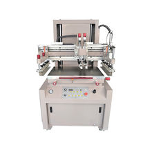 4060 Motor driving silk screen printer with vacuum table