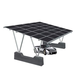 Pre-Engineered or Pre-Fabricated Steel Frames solar PV garage canopies car park carport for single two cars