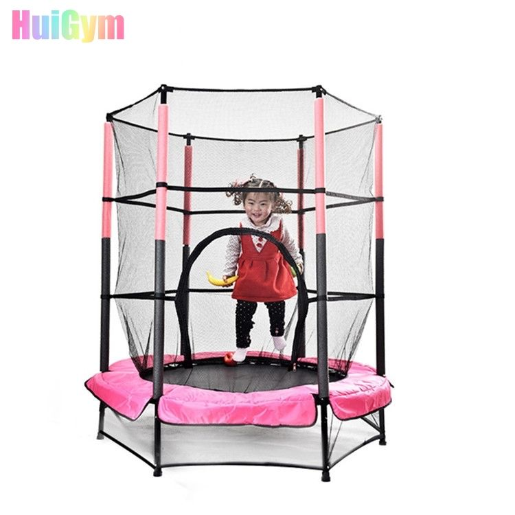 "Amazon Hot Sale Galvanized Tube Jump Exercises Trampoline Kids Trampoline 55"" Mini Trampoline//"