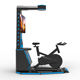 2020 Ticket to ride motion platform of virtual reality fitness vr bike simulator for malls wireless camera outdoor battery solar