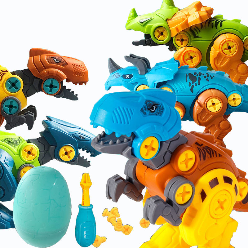 DIY Assembled Model Toys Assembling Dinosaur Eggs Learning Take Apart Construction Toy