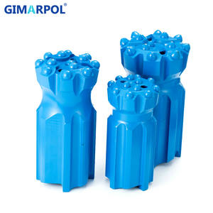 Normal Skirt and Drop Center T45 Thread Button Bit for Mining