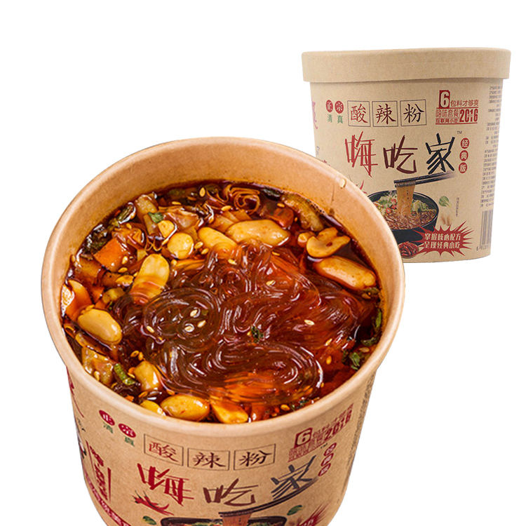 143g Hot & Sour Potatoes Noodles Halal food suan la fen Spicy Vermicelli Sichuan Noodles