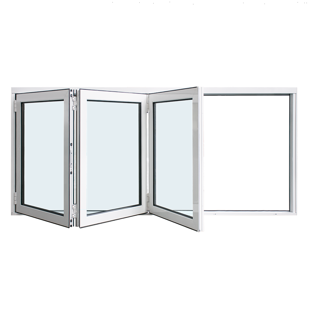 YY construction Aluminium Doors Windows Aluminium Bifolding Window With German Hardware By China