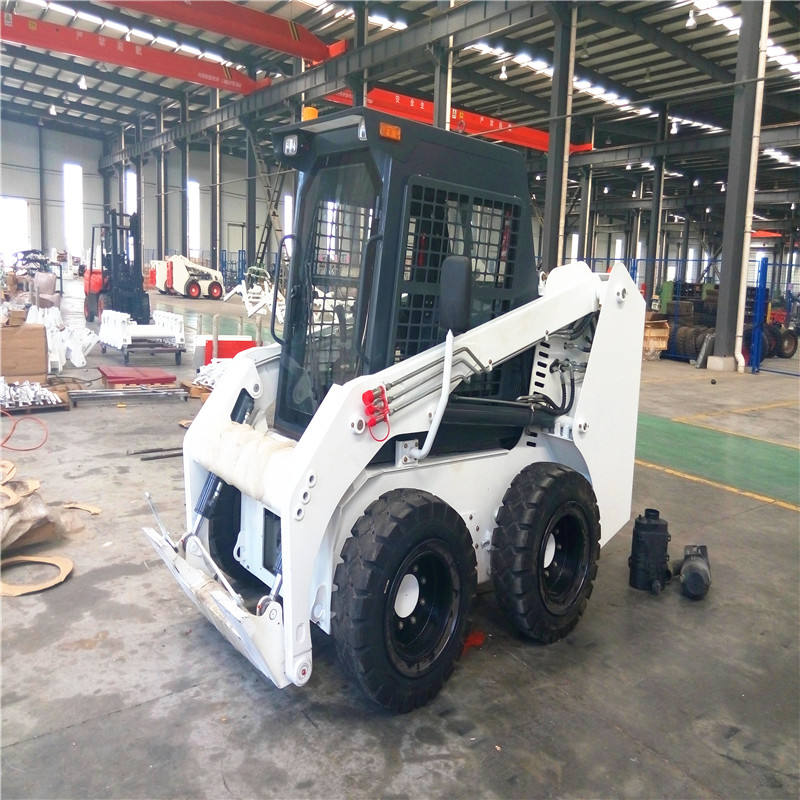 Gato ติดตาม racoon Skid steer Loader with ATTACHMENT