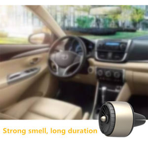 SCENTA Aroma Diffuser Custom Logo Electric Perfume Smell Essential Oil Car Vent Clip Air Freshener