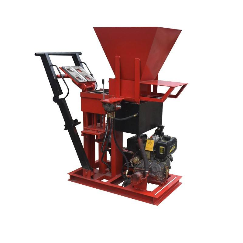 Eco Brava manual mud interlock brick making machine small manufacturing machines
