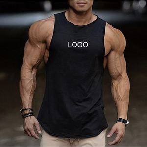 OEM custom gym vest loose men stringer tank top bodybuilding
