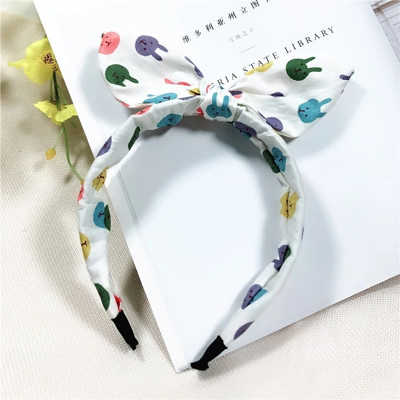 2020 latest custom design fashion decorate twisted knot bow headband for women hair accessories
