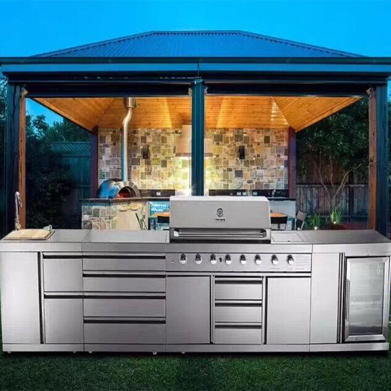 Vermonhouse Stile Australiano BARBECUE All'aperto Cucina di Design