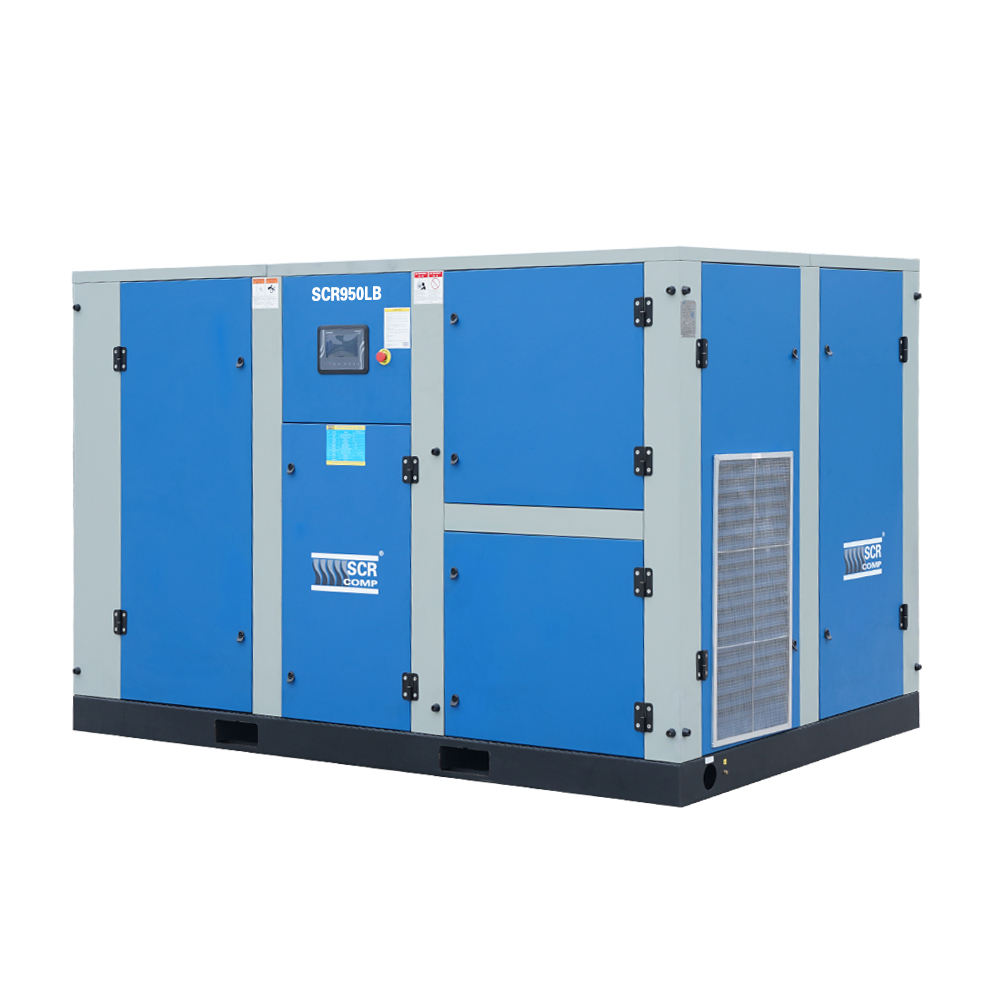 SCR950LBPM 950cfm 4bar 90kw Industrial Equipment Permanent Magnet Screw Air Compressor
