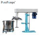 SL-18.5 Hydraulic lifting high speed dispersing blender machine for mixing barrel