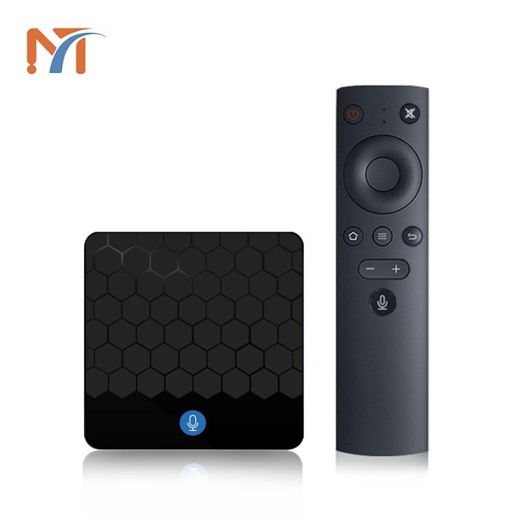 Stock Ready X88 Mini RK3328 2GB 16GB 2.4G Tunggal WiFi 4 K TV Box Android8.1voice Remote Full HD 1080 P Video Android TV Box